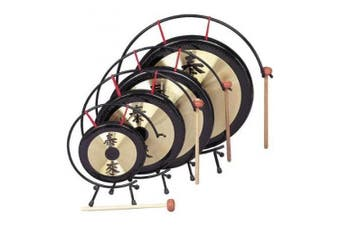 Rhythm Band Oriental Table Gongs 30cm Gong Rb1072
