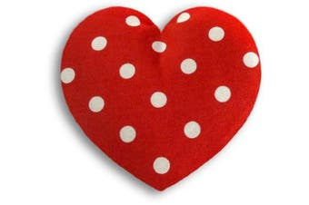 (Polka dot red) - Leschi Warming pillow (for babies) | 36847 | Warming Heart | small | Colour: Polka dot red