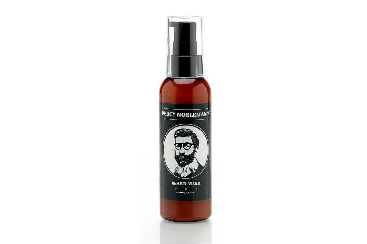 Percy Nobleman Beard Wash A Natural 71% Organic Soap / Shampoo & Conditioner for Men