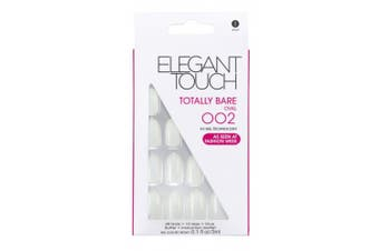 Elegant Touch Totally Bare Nails, Oval Number 002