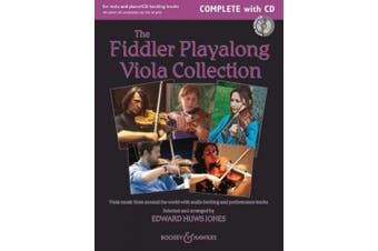 The Fiddler Playalong Viola Collection: Viola Music from Around the World: Viola/Easy Viola / Piano/Viola Accompaniment
