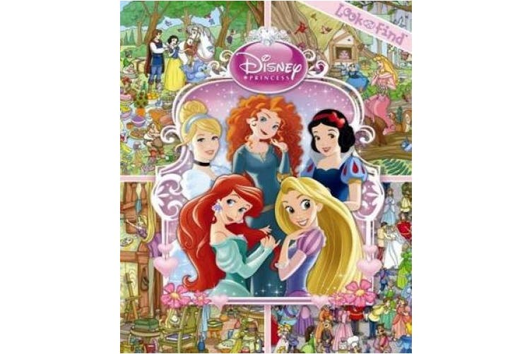 Disney Princess Look & Find [Board book]