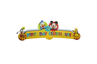 Disney's Mickey Mouse Clubhouse Birthday Banner