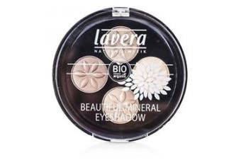Beautiful Mineral Eyeshadow Quattro - # 02 Cappuccino Cream, 4x0.8g/0.026oz