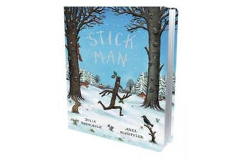 ~ Stick Man Gift Edition Board Book [Board book]