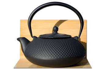 ARARE Tetsubin Japanese style Cast Iron black hobnail tea pot kettle 1.1L