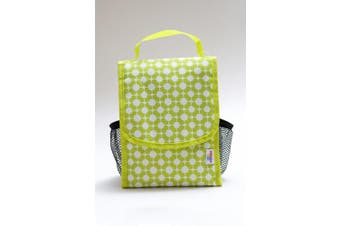 """Cooler Bag - Fill N Squeeze PEVA-Lined Insulated Lunch Bag (20cm x 25cm x 5"""") - Large Capacity for Picnic, Baby food, Travel"""