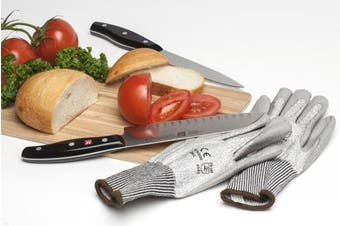 Cooking Gloves - Cut Resistant CE Level 5 Kitchen & Garden Safety Protective Gloves by Cooper Mfg