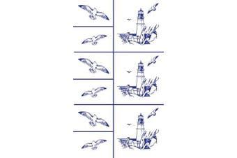 Armour Etch Stencil Rub N Etch Stencil, Lighthouse, 13cm by 20cm