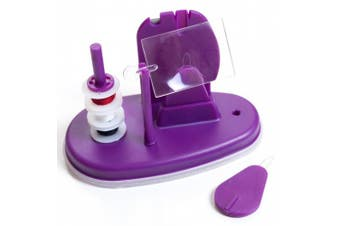 Trademark 11-Piece Needle Threader Kit with Base, Magnifying Glass and More
