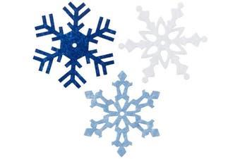 Large Felt Snowflakes 5.1cm 24/Pkg