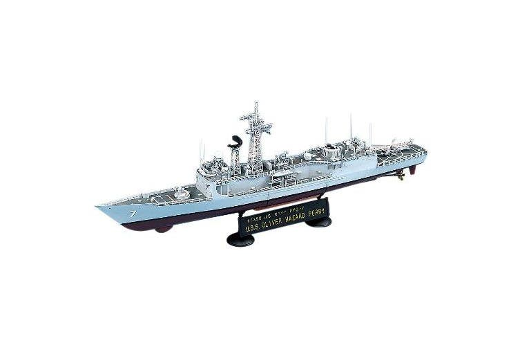(1/350 Oliver Hazard Perry) - Academy USS Oliver Hazard Perry FFG-7 - 1:350 Plastic Ship Kit