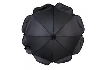 (Black) - Clair de Lune Universal Pushchair Sun Parasol