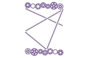 Couture Creations A2 Embossing Folder, Cogs
