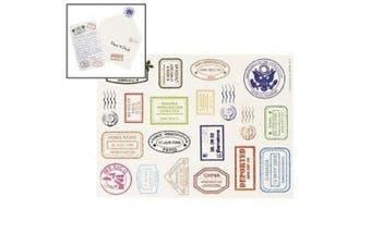 (1) - Passport Stamp Sticker Sheets