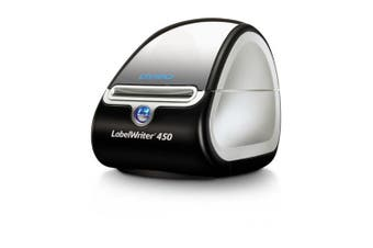 DYMO LABELWRITER 450 PC&Mac (LW450) uses thermal printing, no expensive ink or toner is needed