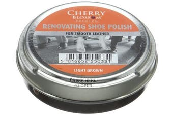 (One Size Fits All, Light Brown) - Cherry Blossom Premium Renovating Polish