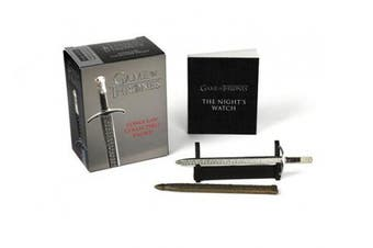 Game of Thrones: Longclaw Collectible Sword [With 4 Inch Sword and Mini Book]