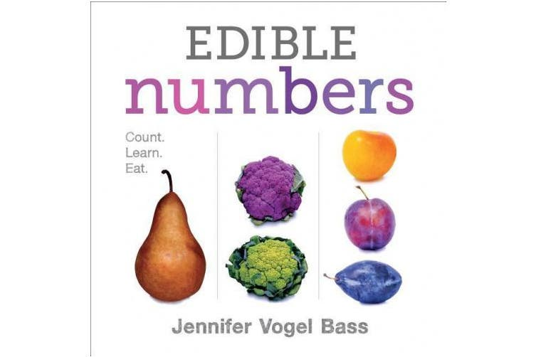 Edible Numbers [Board Book]