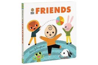 Busy Baby: Friends [Board Book]