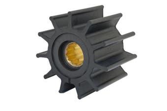 """Jabsco Impeller Kit - 12 Blade - Neoprene - 3-¾"""" Diameter - Brass Insert - Spline Drive"""