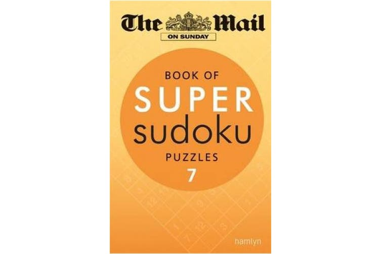 The Mail on Sunday: Book of Super Sudoku Puzzles 7 (Mail on Sunday)
