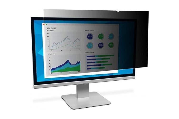 (70cm , Widescreen Monitor (21:9 Aspect Ratio), Black) - 3M Privacy Filter for Widescreen Desktop LCD Monitor 70cm (PF29.0WX)