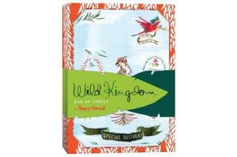 Happy Menocal Wild Kingdom Box of Labels
