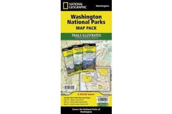 Washington National Parks, Map Pack Bundle: Trails Illustrated National Parks