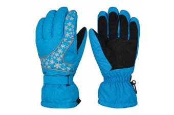(women, Blue) - BAO CORE Official Womens Mens Snowboarding Skiing Motor Cycling Gloves Super Warm in Winter