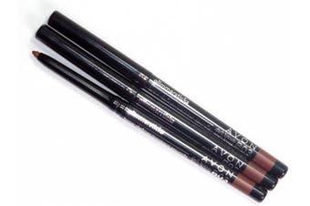 3 x Avon Glimmerstick Eyebrow Brow Definer in Dark Brown