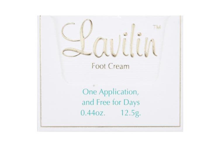 Lavilin Foot Deodorant Cream, 10 cc