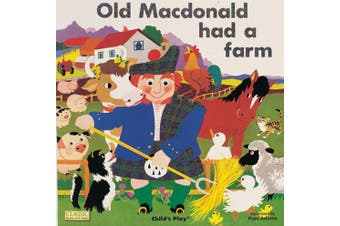 Old Macdonald had a Farm (Classic Books with Holes UK Soft Cover with CD)