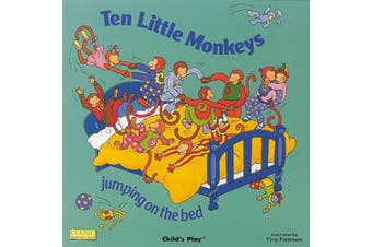 Ten Little Monkeys Jumping on the Bed (Classic Books with Holes Cover) [Board book]