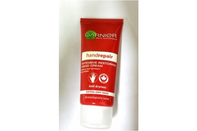 (100ml, Hand Cream) - Skin Naturals by Garnier Body Repair Intensive Restoring Hand Cream (Extra Dry Skin) 100ml