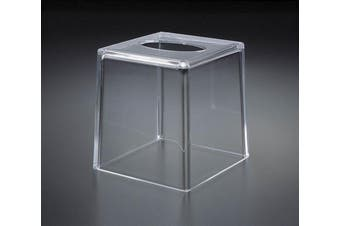 Acrylic Lucite Boutique Tissue Box Holder Cover