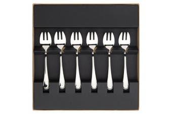 Guy Degrenne 206325 Set of 6 Oyster Forks