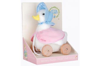 PULL ALONG TOY JEMIMA PUDDLE DUCK