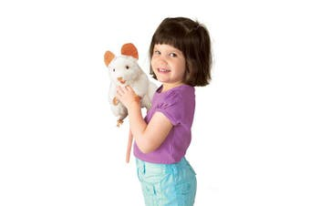 (1) - Folkmanis Mouse Hand Puppet, White