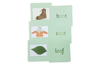 Green Phonics Reading Cards