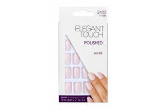Elegant Touch Polished Nails Hamptons Collection Matte, Jackie Baby Pink