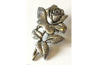 England Rugby Union Rose Hand Made in the UK Pewter Lapel Pin Badge