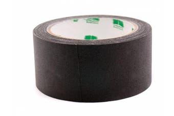 (Black) - 5.1cm Black Coloured Premium-Cloth Book Binding Repair Tape | 15 Yard Roll