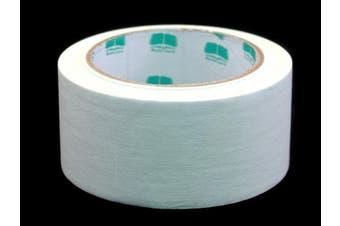 (White) - 5.1cm White Coloured Premium-Cloth Book Binding Repair Tape | 15 Yard Roll (BookGuard Brand)