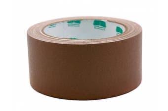 (Brown) - 5.1cm Brown Coloured Premium-Cloth Book Binding Repair Tape | 15 Yard Roll (BookGuard Brand)
