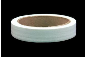 (White) - 2.5cm White Coloured Premium-Cloth Book Binding Repair Tape | 15 Yard Roll (BookGuard Brand)