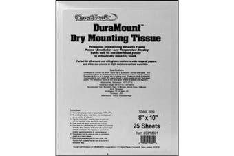 Duracraft Dry Mount Tissue 8x10 25sh