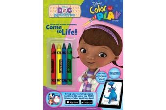 Bendon Disney Doc McStuffins Colour and Play 32-Page Activity Book