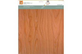 BARC Wood Sheet W/Paper Backing 30cm x 30cm