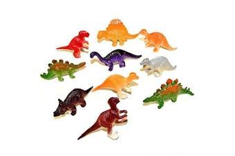 30 Assorted Mini Plastic Dinosaur Toys